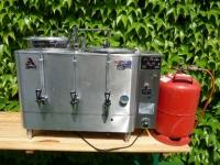 Kaffeemaschine mit Gasheizung